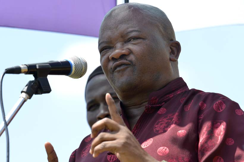 FILE PICTURE: UDM leader Bantu Holomisa. Picture: Alaister Russell.