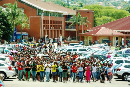DUT striking workers agree to return to work while wage negotiations continue