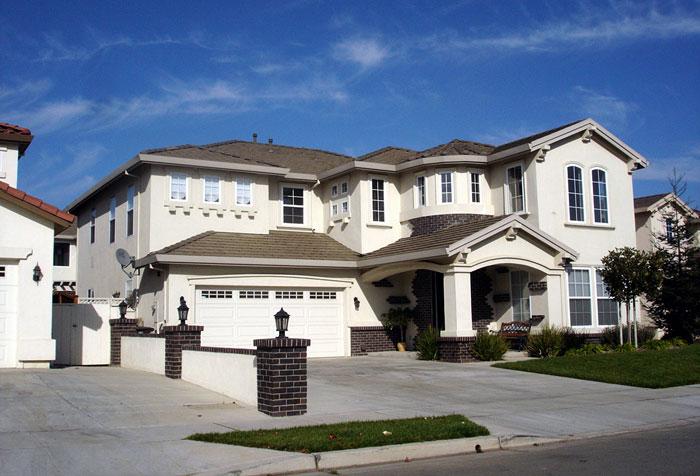Average house price rises