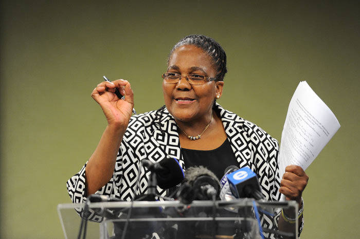 FILE PICTURES: Transport Minister Dipuo Peters. Picture: Michel Bega