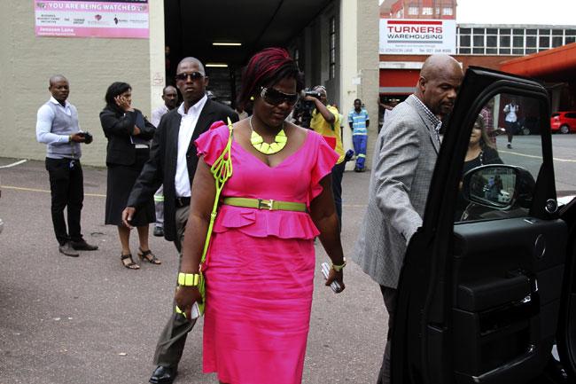 FILE PICTURE: Durban businesswoman Mabongi Flora-Junior