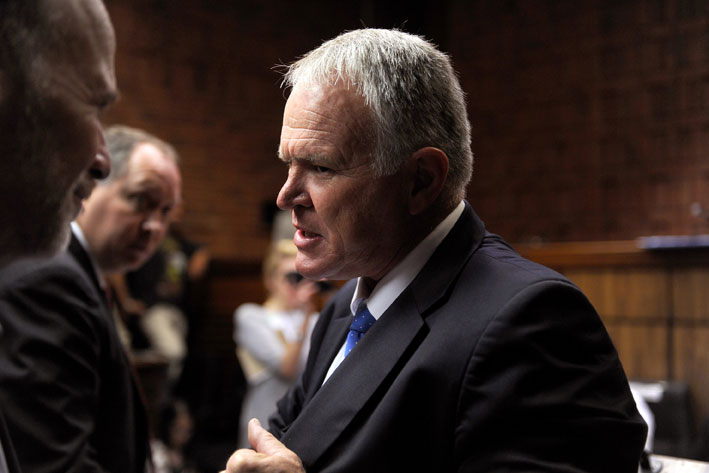 FILE PICTURE: Barry Roux is the advocate defending Oscar Pistorius. Picture: Werner Beukes/SAPA