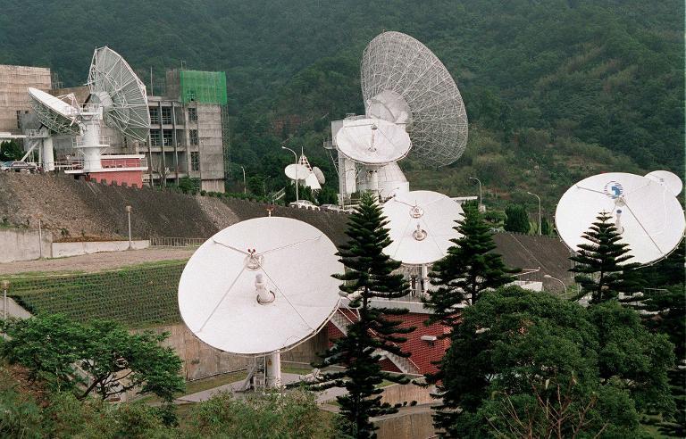 Satellite telecommunications.