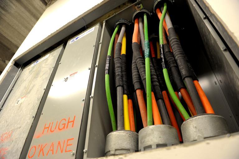 Fibre optic cables | AFP PHOTO