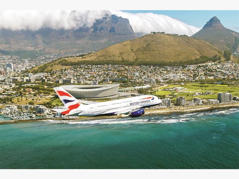What is onboard your average British Airways flight?