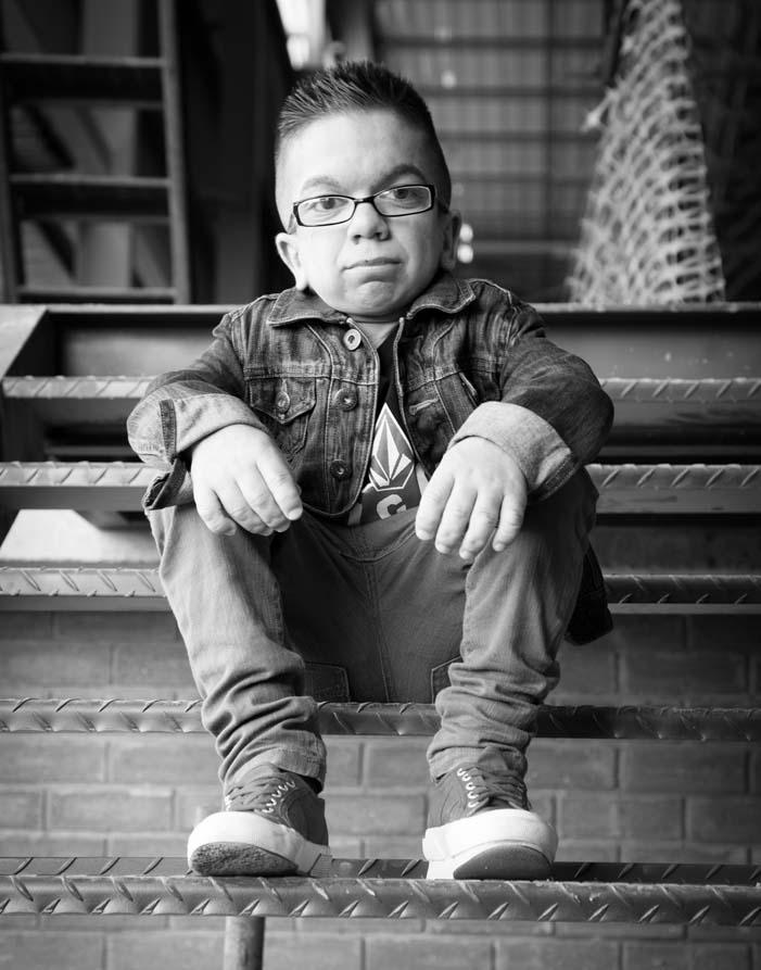 Oscar von Memerty has been chosen as the face of the Rare Disease Day 2014 campaign.