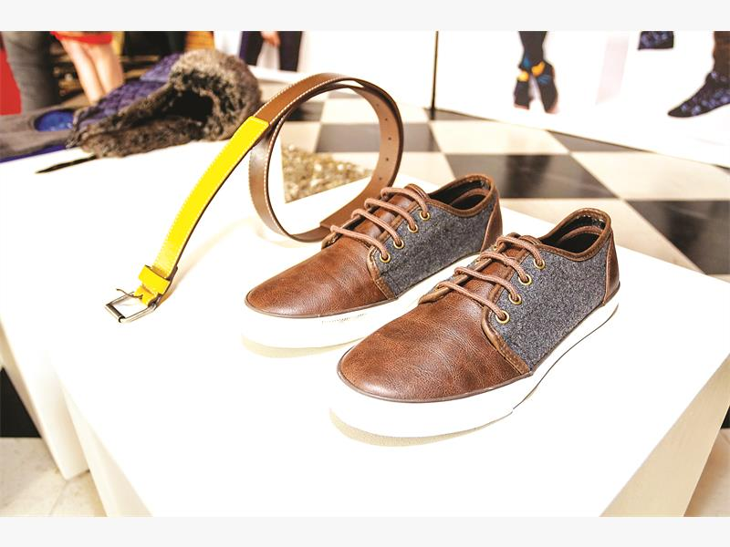 FEET FIRST. Shoes from the Celio autumn range. Pictures: Supplied.