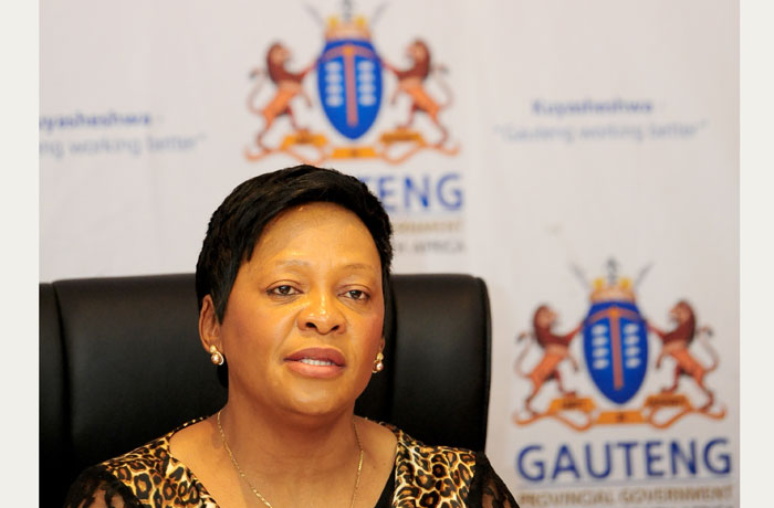 FILE PICTURE: The Minister of Water and Sanitation Ms Nomvula Mokonyane. Picture: Tracy Lee Stark