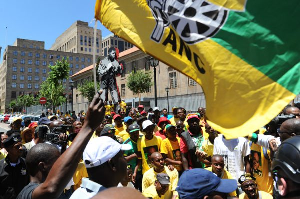 FILE PICTURE: African National Congress (ANC) supporters. Picture: Michel Bega