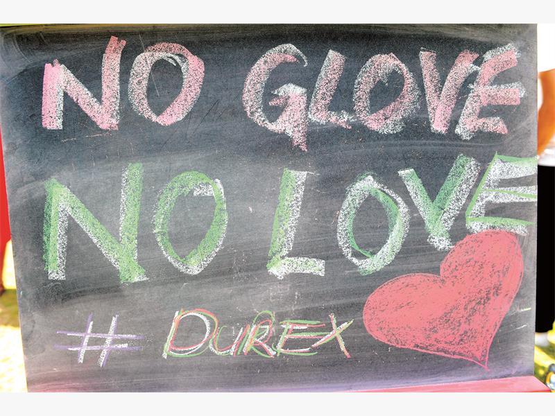 Pushing the envelope with Durex