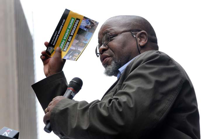 FILE PICTURE: ANC Secretary General Gwede Mantashe. Picture: Nigel Sibanda