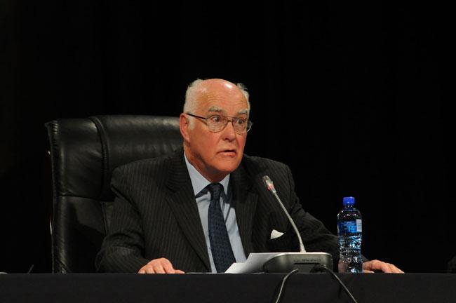 FILE PICTURE: Judge Ian Farlam. Picture: Refilwe Modise.