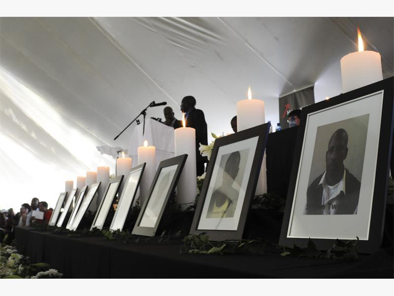 Never again, promises Harmony head Motsepe