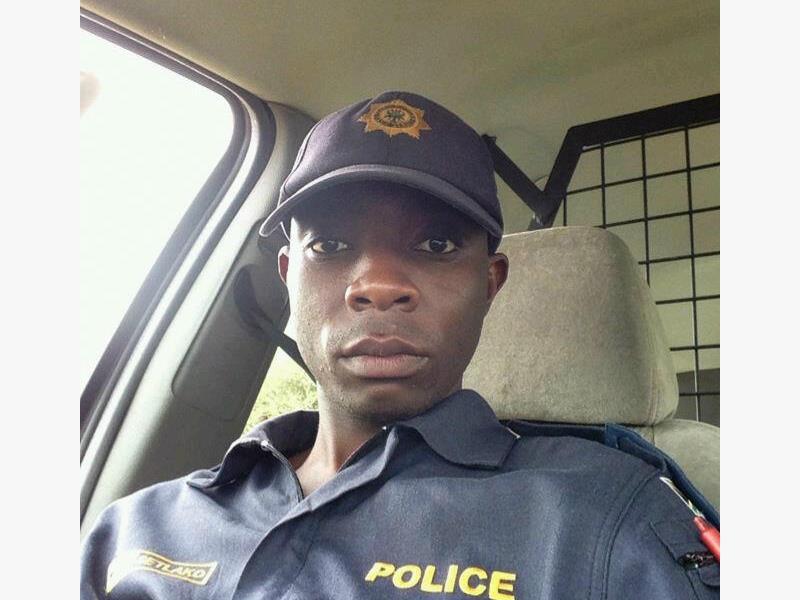 Constable Monwabisi Lawrence Setlako.
