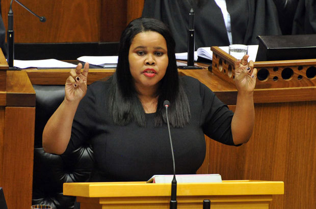 FILE PICTURE: Former Democratic Alliance Parliamentary Leader Lindiwe Mazibuko. Picture: GCIS.