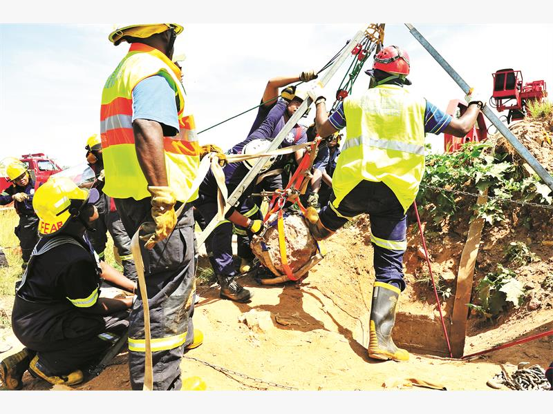Day of drama for illegal miners