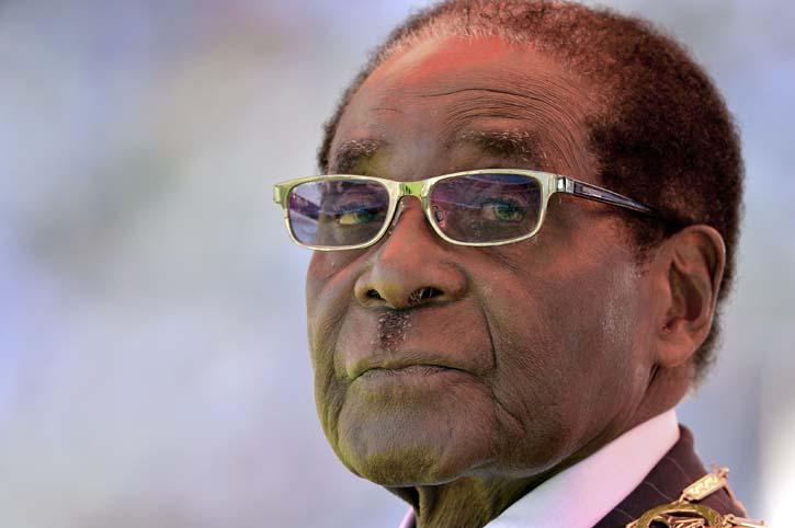 Zimbabwean President Robert Mugabe. Picture: AFP