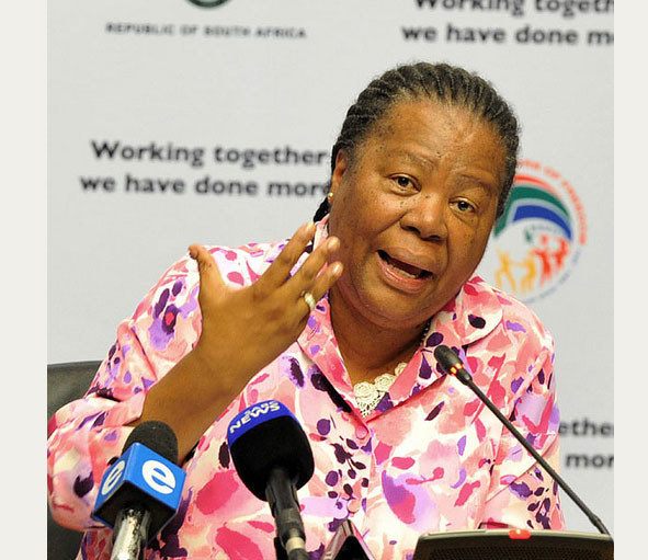 FILE PICTURE: The Minister of Science and Technology Ms Naledi Pandor.(Photo: GCIS)