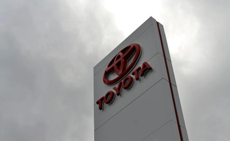 Toyota logo. Image courtesy AFP.