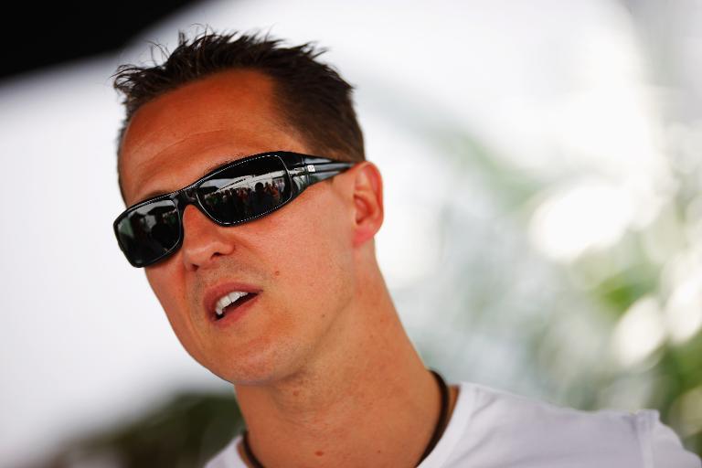 Michael Schumacher. Photo: AFP.