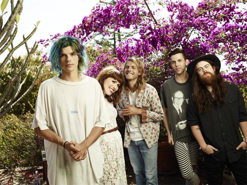 GROUPLOVE. From left, Christian Zucconi, Hannah Hooper, Andrew Wessen, Ryan Rabin and Sean Gadd. Pictures: Supplied.
