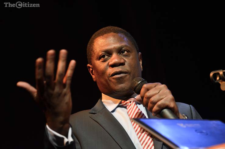 Paul Mashatile. Picture: Alaister Russell