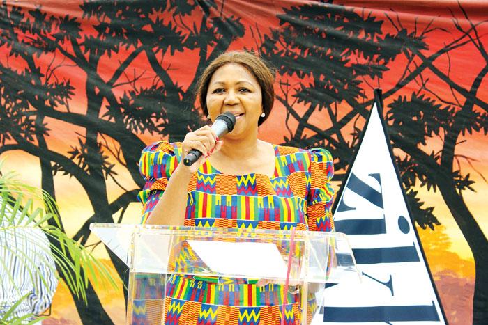 FILE PICTURE: SABC chairperson Ellen Zandile Tshabalala showed her political bias in KwaMashu. Picture: Zama Nteyi.