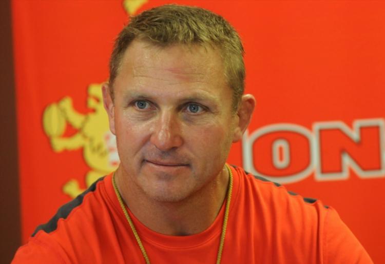 Lions coach Johan Ackermann. Picture: Gallo Images