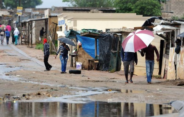 Cape Town gets brief relief with rain showers