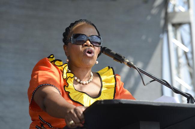 FILE PICTURE: Zanele KaMagwaza Msibi. Picture: Alaister Russell.
