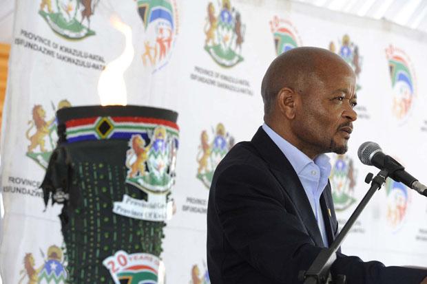 FILE PICTURE: KwaZulu-Natal Premier Senzo Mchunu. Photo: KwaZulu-Natal