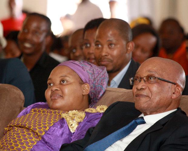 President Jacob Zuma accompanied by First Lady Nompumelelo 'MaNtuli' Zuma in 2014. (Photo: GCIS)