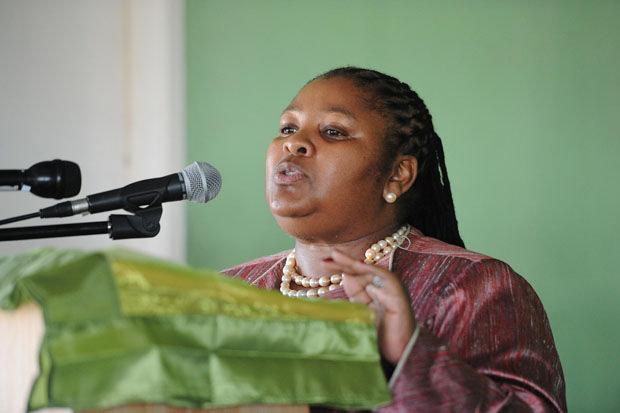 FILE PICTURE: Defence Minister Nosiviwe Mapisa-Nqakula. Picture: GCIS