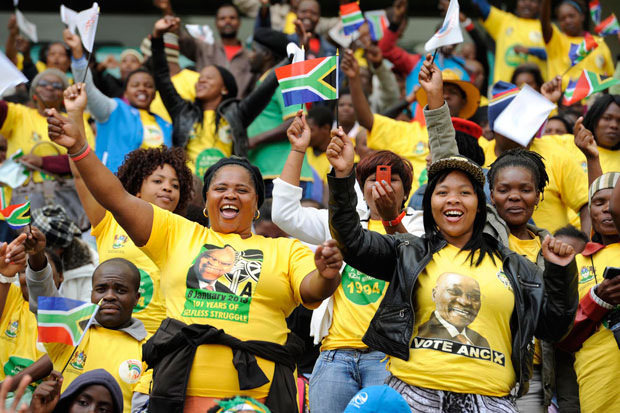 FILE PICTURE: Thousands of ANC members gather at Moses Mabhida stadium.