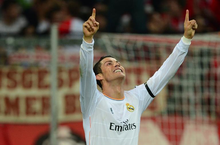 Real Madrid's forward Cristiano Ronaldo.