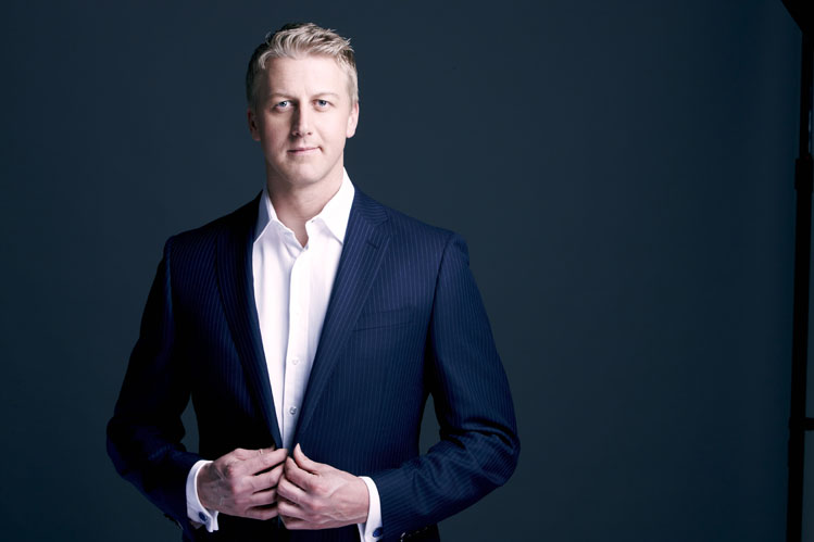 Gareth Cliff. Image supplied