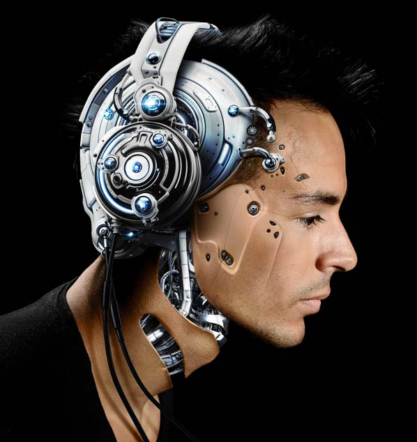 Shannon Ellinas took his inspiration for his Holoscreen performance apparatus from the film 'Minority Report'. Picture: William Esposito