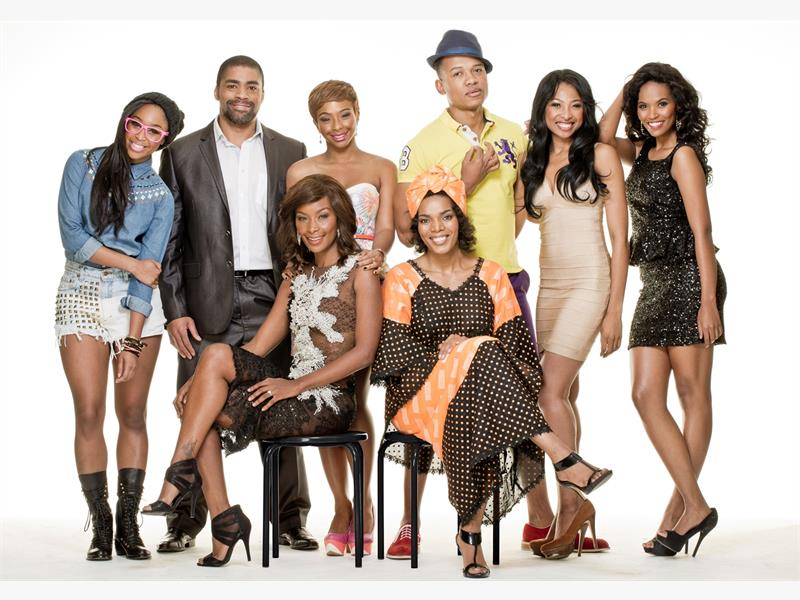 ROCKING CAST. The success of 'Rockville' has prompted Mzansi Magic to feature more dramatic shows. Picture: Supplied.