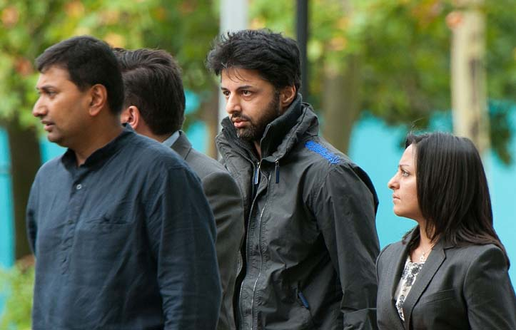FILE PICTURE: Shrien Dewani arrives at Belmarsh Magistrates' Court sitting at Woolwich Crown Court in south London, on August 10, 2011, ahead of an expected judgement decision on his extradition to South Africa. Picture: AFP