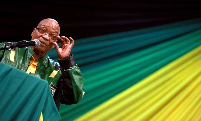 FILE PICTURE: President Jacob Zuma. Picture: AFP