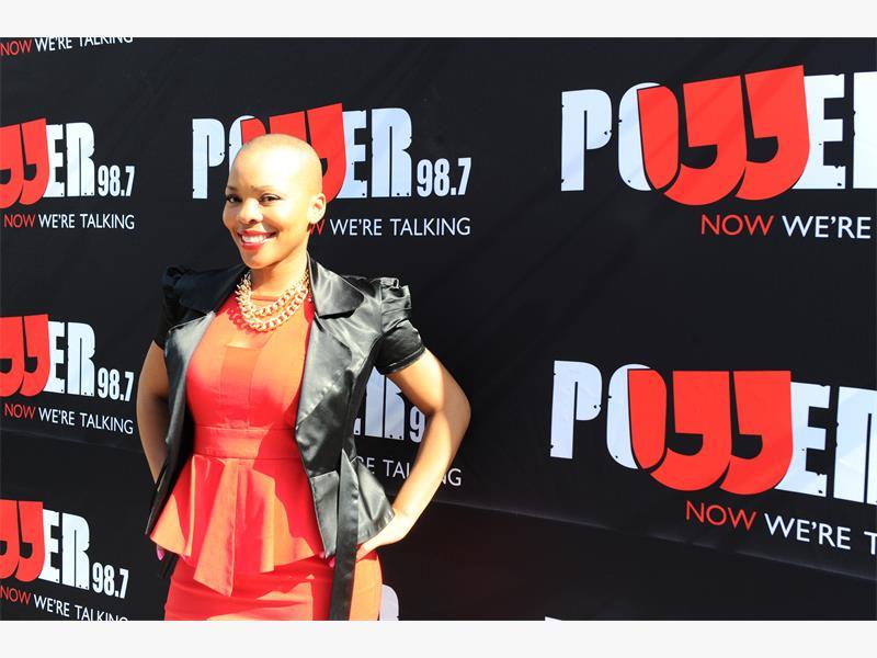 STRONG SHOWING. Masechaba Lekalake's 'Power Life' show won Power FM's first award at the recent MTN Radio Awards.