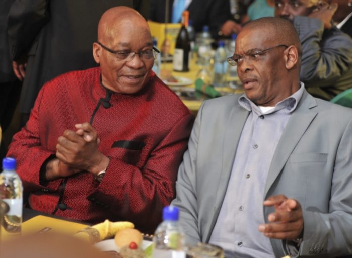 FILE PICTURE: President Jacob Zuma and Ace Magashule. Picture: Gallo Images