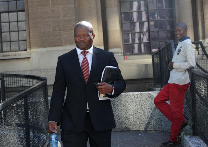 UDM leader Bantu Holomisa. Picture: Werner Beukes/SAPA