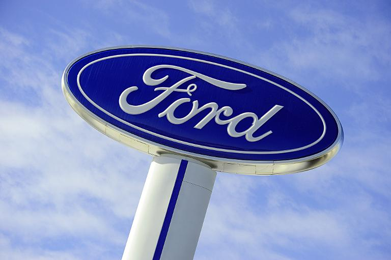 The Ford logo. Picture AFP