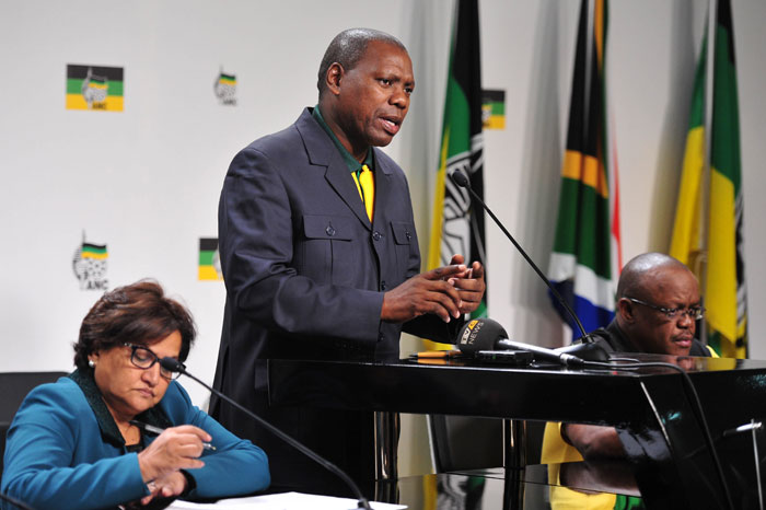Zweli Mkhize speaks during a media briefing at Chief Albert Luthuli house in the Johannesburg CBD, 20 May 2014. Picture: Neil McCartney