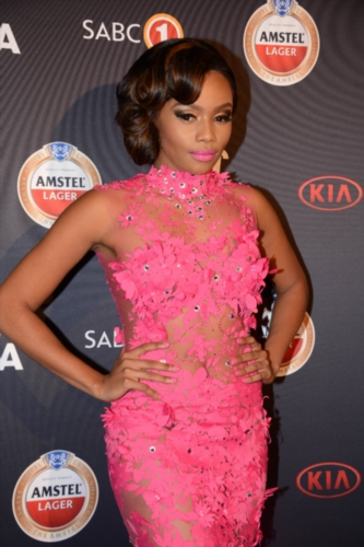 Bonang Mathiba attends the South African Music Awards on April 28, 2014 in Sun City, South Africa. 2014 Marks the 20th year for the Awards Ceremony. (Photo by Gallo Images / Frennie Shivambu)