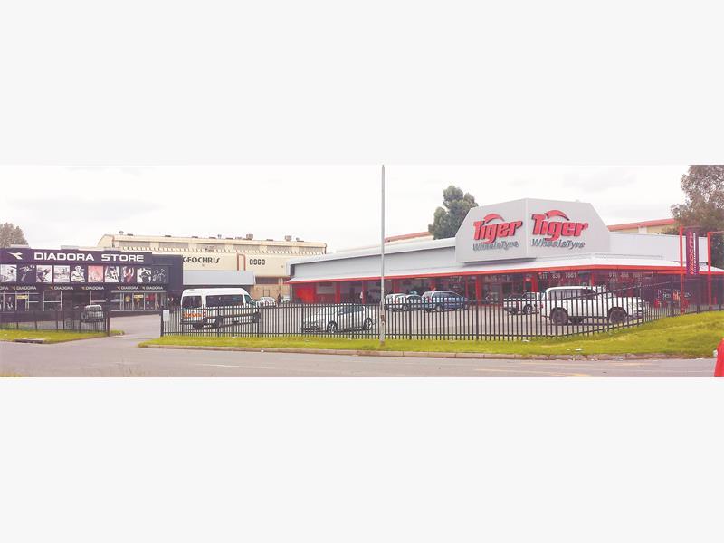 Business premises on offer