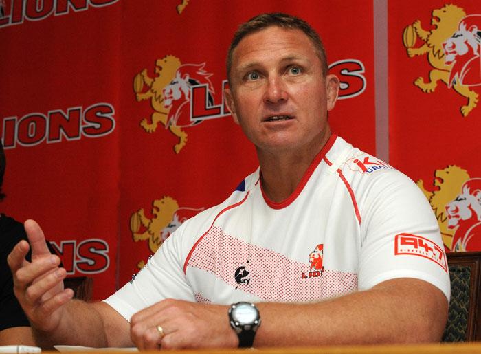 FILE PICTURE: Lions coach Johan Ackermann. Picture: Lee Warren/Gallo Images.