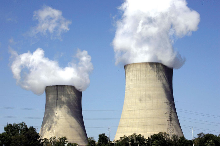 FILE PICTURE: Power station. Picture: AFP