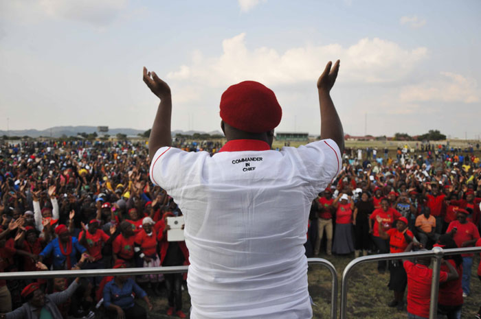 Julius Malema. Picture: Alaister Russell